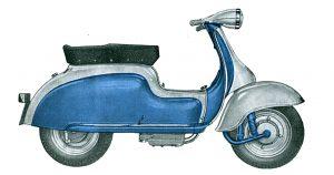 catria scooter 1960