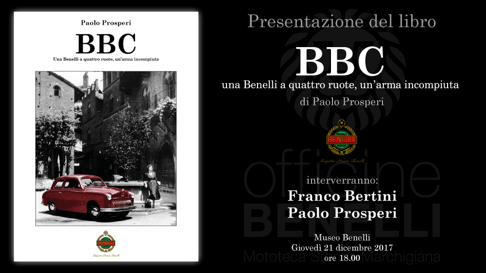 Presentazione libro BBC – 21 dicembre 2017