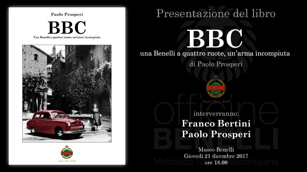 Presentazione libro BBC – 21 dicembre 2017