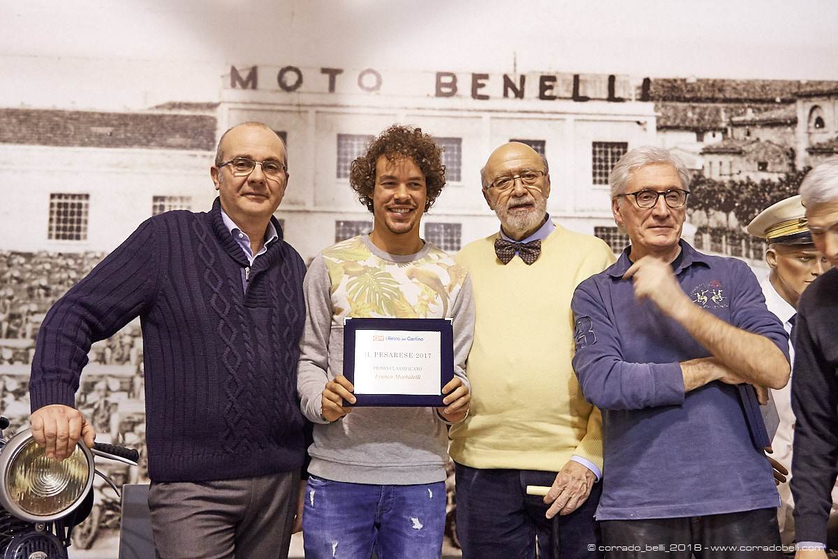 Pesarese dell'anno – Officine Benelli 25 febbraio 2018