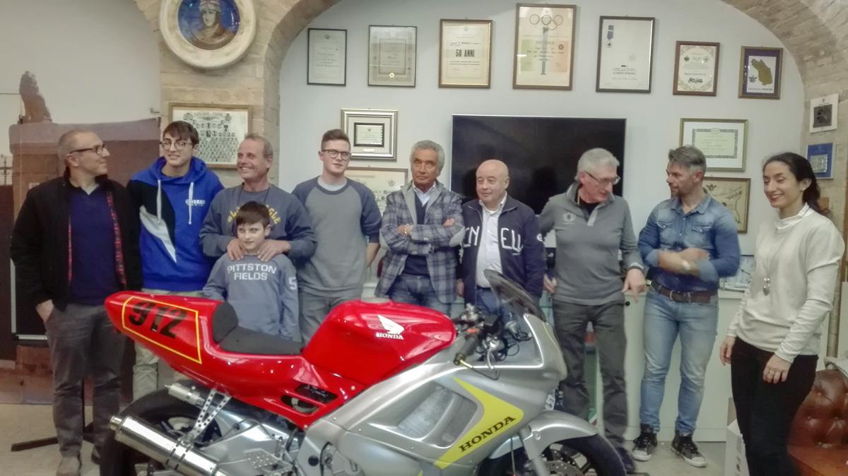 Presentazione piloti – Motoclub, 16 marzo 2018