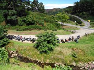 Motoclub Scottish Raid 2018 059