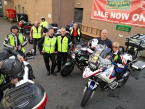 Motoclub Scottish Raid 2018 079